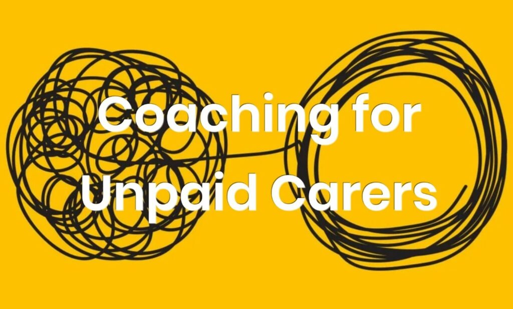 Coaching for unpaid carers